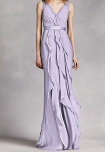 NWOT V-Neck Wrapped Bodice Dress